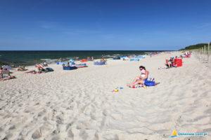 Dziwnów plaża nadmorska